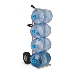 Carretilla de Reparto de Botellones de Agua con ruedas 10