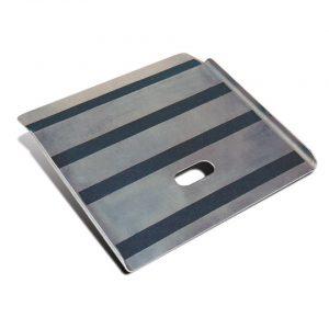 Rampa para subir acera de aluminio