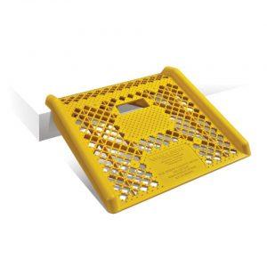 Rampa de plastico para subir aceras