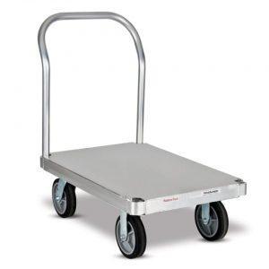 Carro plataforma con base lisa