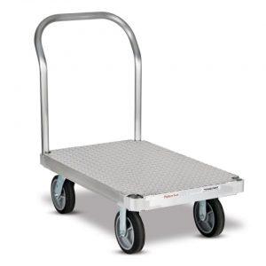 Carro plataforma con base rugosa