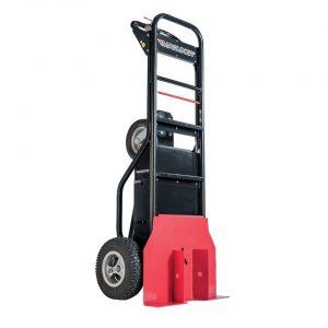 Carretilla manual motorizada con empujador de postes ruedas neumaticas