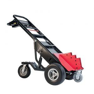 Carretilla manual motorizada con enganche de remolque con ruedas rellenas de espuma